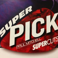 Photo taken at SUPERCUTS by Stephanie M. on 2/28/2013