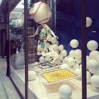 Photo taken at Maison Hermès by nik on 7/7/2013