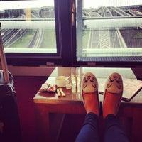 Photo taken at Air France Lounge by Olga M. on 5/23/2013