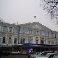 Снимок сделан в Театр им. Ивана Франко пользователем Київський путівник 11/14/2012