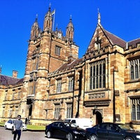 Photo taken at The University of Sydney (USYD) by Nia R. on 8/14/2013