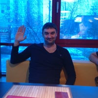 Photo taken at Pizza by Rinat K. on 2/5/2013