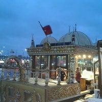 Photo taken at Istanbul Eminonu Balik Ekmek by Ceren H. on 11/14/2013