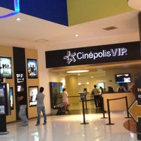 Photo taken at Cinépolis VIP by Gaby M. on 12/5/2012