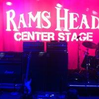 Photo taken at Rams Head Center Stage by Justin H. on 11/8/2012