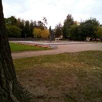 Photo taken at Памятник «Пушкин и крестьянка» by Павел П. on 9/17/2016