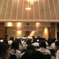 Photo taken at Gedung Krida Bhakti Sekretariat Negara by Lifany K. on 11/6/2012