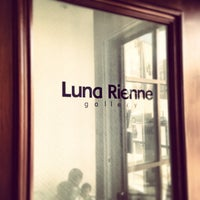 Photo taken at Luna Rienne Gallery by Ollie O. on 3/18/2013