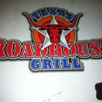 Photo taken at Texas Roadhouse Grill by CristineGr on 1/6/2013