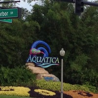 Photo taken at Aquatica, SeaWorld's Waterpark Orlando by Pam D. on 5/16/2013