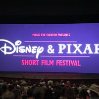 Photo taken at Disney & Pixar Short Film Festival (Magic Eye Theater) by Pam D. on 5/17/2017