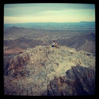 Photo taken at Piestewa Peak by EAZY e. on 12/4/2012
