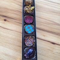 Photo taken at Lilly Handmade Chocolates by Elizabeth B. on 8/27/2015