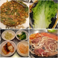 Photo taken at Honey Pig Gooldaegee Korean Grill by Jesse S. on 4/13/2013