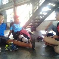 Photo taken at Hall B-2 JIEXPO Kemayoran by Andreas on 12/19/2012
