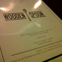 Photo taken at Wooden Spoon by Clarisse A. on 9/23/2012