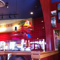 Photo taken at Red Robin Gourmet Burgers by Cathy H. on 11/17/2012