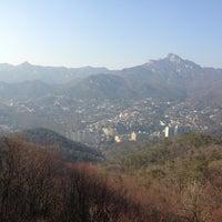 Photo taken at Bukak Palgakjeong by Soo Bok P. on 3/16/2013