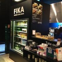 Photo taken at FIKA Swedish Coffee Break by Soo Bok P. on 12/28/2012