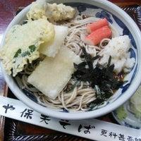 Photo taken at や保天そば by koryu m. on 8/2/2014