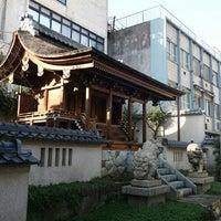 Photo taken at Shibata Shrine by koryu m. on 11/14/2016