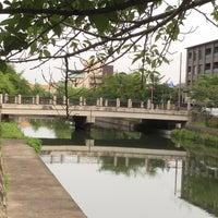 Photo taken at 冷泉橋 by koryu m. on 6/22/2017