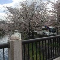 Photo taken at 冷泉橋 by koryu m. on 4/13/2017