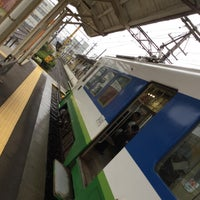Photo taken at Shimmei Station by koryu m. on 11/18/2017