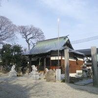 Photo taken at 伊邪那岐神社 by koryu m. on 2/1/2014