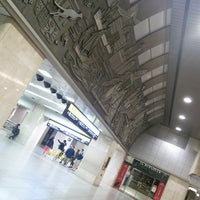 Photo taken at JR大阪駅 砂時計広場 by koryu m. on 4/14/2015