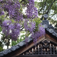 Photo taken at 種河神社 by koryu m. on 4/29/2017