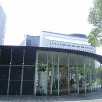Photo taken at 大阪城公園レストハウス by koryu m. on 6/20/2014