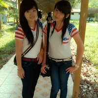 Photo taken at Universitas Atma Jaya Makassar (UAJM) by lenachann on 8/2/2014