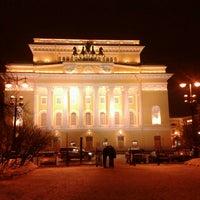 Снимок сделан в Александринский театр пользователем Людмила Х. 1/26/2013