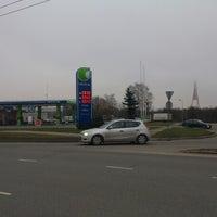 Photo taken at Neste | Lucavsala by Estet T. on 11/17/2012