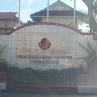 Photo taken at Sekolah Kebangsaan Kompleks Seberang Takir by pok l. on 5/25/2014