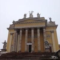 Photo taken at Egri Főszékesegyház (Bazilika) by Richárd T. on 12/8/2012