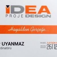 Photo taken at idea design by Serdar U. on 6/19/2014
