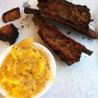 Photo taken at John Mueller Meat Company by Kay M. on 6/6/2013
