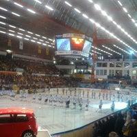 Photo taken at Zimní stadion Luďka Čajky by Ondřej H. on 4/10/2013