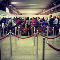 Photo taken at Passport Control by Анастасия В. on 12/27/2012
