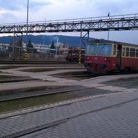 Photo taken at Železničná stanica Humenné by Pali S. on 3/11/2013