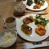 Photo taken at Café & Meal MUJI by sandy k. on 10/24/2013