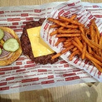 Photo taken at Smashburger by Haz I. on 4/23/2013