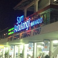 Photo taken at Sam Ratulangi International Airport (MDC) by Boy K. on 5/24/2013