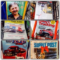 Photo taken at Husky Truck Stop by Matthew P. on 1/2/2015