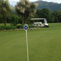 Photo taken at Golf Club Patriziale Ascona by Natalie L. on 5/25/2016