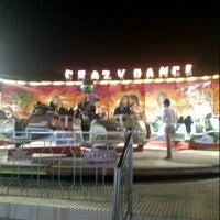 Photo taken at Akçay Lunapark by Dilara K. on 7/26/2013