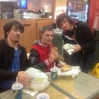 Photo taken at Subway by Antony K. on 11/15/2012