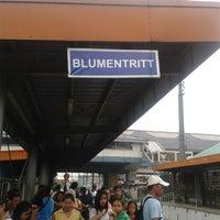 Photo taken at PNR (Blumentritt Station) by Joennie B. on 7/28/2013